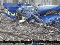 Un pilot roman a murit dupa ce s-a prabusit cu avionul in Ungaria. Imagini de la locul tragediei. VIDEO