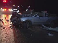 Accident cu 30 de masini pe o sosea din statul american Oregon. Ploaia inghetata ar fi provocat carambolul. VIDEO
