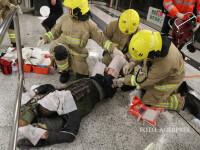 Atac la metroul din Hong Kong: 18 raniti, dintre care 3 grav.