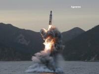 Coreea de Nord a lansat o racheta, care a parcurs 500 de kilometri. Reactia SUA si a Japoniei