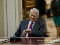 Teodor Meleșcanu și-a dat demisia din funcția de președinte al Senatului
