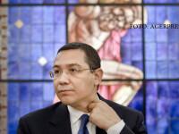 """Victor Ponta, discurs ironic în Parlament: """"Vă urez succes exact cum vă urează Liviu Dragnea"""""""