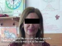 Invatatoare din Brasov inregistrata in timp ce-si jigneste si umileste elevii: