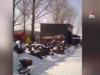 Ce a patit un sofer care si-a dus camionul la o firma din Giurgiu pentru a fi reparat. Filmare cu camera ascunsa