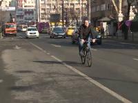 Nou marcaj rutier pe bulevardele din București, pentru bicicliști. Ce amenzi vor primi șoferii care nu țin cont de reguli