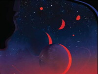 O calatorie la 40 de ani lumina distanta spre exoplanetele din sistemul solar TRAPPIST- 1. Imaginea dezvaluita de NASA