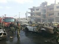 Atentat cu zeci de morti, in orasul sirian Homs. Un general fidel lui al-Assad si mai multi ofiteri au fost ucisi