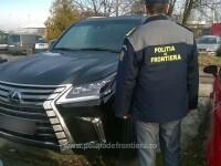 Lexus in valoare de 160 de mii de euro, care era cautat de autoritatile din Rusia, gasit la Petea. Soferul era roman