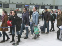 Orele pe care sa le evitati in Aeroportul Otopeni, pentru a nu sta mult la coada. Numarul calatorilor a crescut in 2016