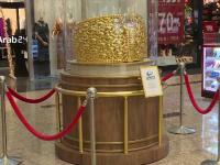 Cel mai mare inel de aur cu pietre scumpe din lume, expus în Emiratele Arabe