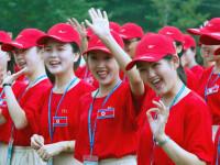 Coreea de Nord își trimite majoretele-patrioate la Jocurile Olimpice din Pyeongchang