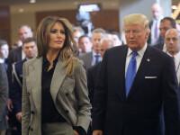 Gestul Melaniei față de Donald Trump pe un aeroport din Florida. Tensiunile dintre ei sunt evidente