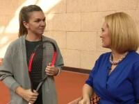 Andreea Esca și Simona Halep, interviul integral. Secretele celei mai iubite românce din tenis