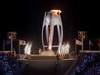 JO 2018. Flacăra Olimpică a fost aprinsă la Pyeongchang