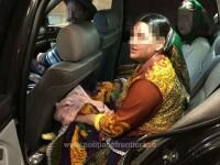 O femeie care își ascundea bebelușul sub fustă a încercat să treacă ilegal frontiera