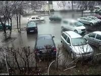 Accident grav în Iași, provocat de un șofer beat. Impactul, surprins de camere