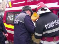 Un bărbat din Neamț și-a amenințat cu moartea soția și, din greșeală, și-a dat foc