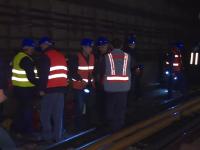 Ce se întâmplă noaptea la metroul din Capitală. Sute de oameni, mobilizați