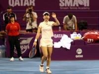 Simona Halep - Anastasija Sevastova 6-4; 6-3. Calificare fără emoții în sferturi la Doha