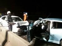 Un mort şi cinci răniţi, între care doi copii, într-un accident petrecut în Hunedoara