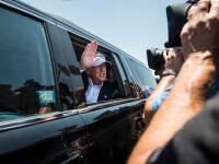 Şofer din convoiul lui Trump, reţinut de Secret Service. Ce a fost descoperit în bagajul său