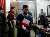 """Peste 100 de morți și sute de răniți, după bombardamentele lui al-Assad asupra enclavei Ghouta de Est: """"Este un masacru!"""""""