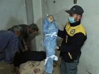 Imagini sfâșietoare surprinse în urma atacurilor din Siria. Zeci de copii și-au pierdut viața