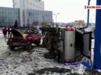 Un tânăr de 31 de ani a pătruns cu duba într-o benzinărie, după ce i s-a făcut rău. A murit în braţele medicilor