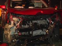Impact violent lângă București. Ce s-a întâmplat din cauza unui șofer grăbit