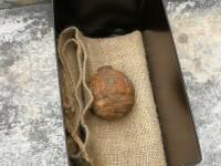 O grenadă din Primul Război Mondial, descoperită într-un transport de cartofi. VIDEO