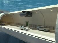 """Țara care va investi 40 de miliarde de dolari pentru tuneluri """"plutitoare"""""""