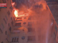 Oamenii cereau ajutor de la ferestre. 10 oameni au murit într-un incendiu violent în Paris