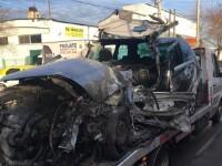 Familie moartă într-un impact nimicitor, în Ialomița. Cauza accidentului