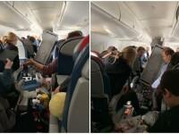 Clipe de groază pentru pasagerii unui avion care s-a prăbușit în gol de două ori. VIDEO