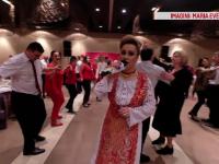 Valentine's Day, sărbătorită cu muzică populară de românii din Spania.