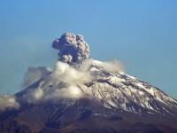 Alertă în Mexic: vulcanul Popocatepetl și-a intensificat activitatea. Măsurile luate