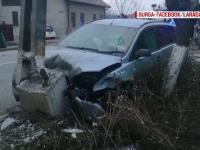 Caz uluitor în Suceava. Vârsta șoferului care a spulberat mașina de poliție ce îl urmărea
