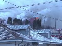 Vila arbitrului Adrian Porumboiu, amenințată de un incendiu puternic: