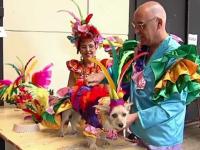 Festival inedit al câinilor, înainte de intrarea în postul Paștelui. FOTO