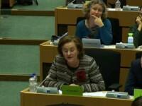 Momentul în care Maria Grapini îi pune întrebări Codruței Kovesi în timpul audierilor din PE. VIDEO