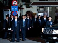 Kim Jong-un, pe străzile din Hanoi. Bodyguarzii săi au alergat în jurul limuzinei