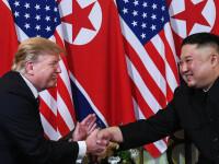 """Trump, noi laude pentru Kim Jong-un: Are o """"viziune măreață și frumoasă"""""""