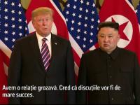 """Trump, """"foarte dezamăgit"""" dacă în Coreea de Nord vor fi reluate testele nucleare"""