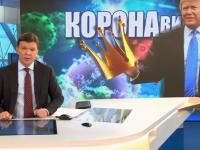 Teorie a conspirației, lansată de un post TV rusesc. Coronavirusul ar fi creat de Trump