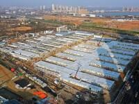 China a deschis încă un spital cu 1.600 de paturi la Wuhan, în mai puțin de 2 săptămâni