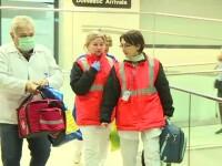 O studentă care s-a întors din China, preluată de medici din avion, de la Otopeni