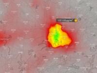 Substanța depistată în cantități uriașe în aerul din Wuhan. Ar indica un număr mult mai mare de morți
