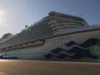 Un român a fost depistat cu coronavirus la bordul navei Diamond Princess