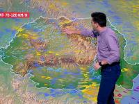 Furtuna ce a terorizat Europa se apropie vertiginos de România. Se anunță fenomene extreme