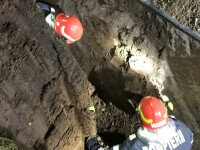Muncitorul prins sub un mal de pământ în Corbeanca a murit. Ce spun autoritățile